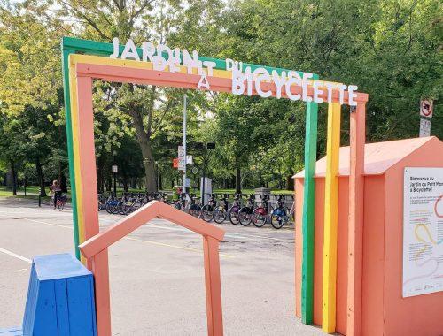 Parcours de vélo pour enfants
