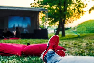 Cinéma sous les étoiles sur le Plateau-Mont-Royal